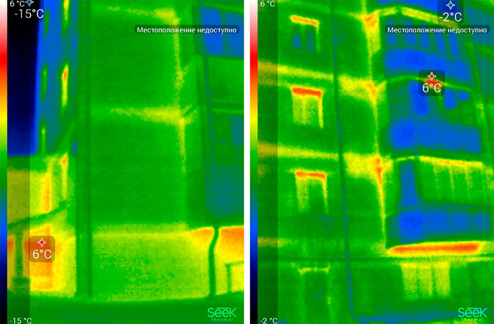 Обзор тепловизора Seek Thermal и его применение - 41
