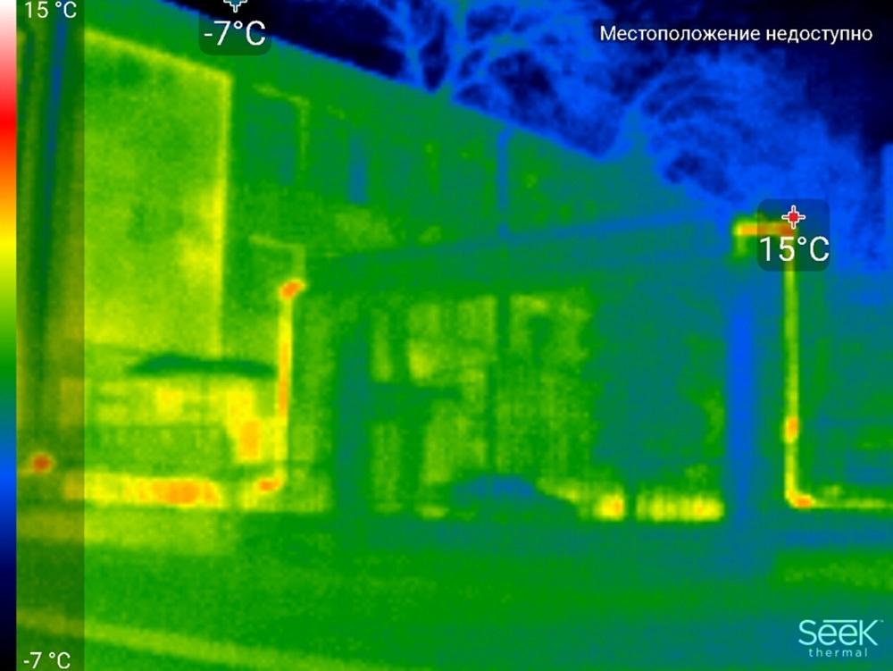 Обзор тепловизора Seek Thermal и его применение - 42