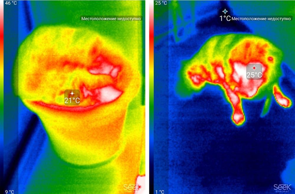 Обзор тепловизора Seek Thermal и его применение - 46