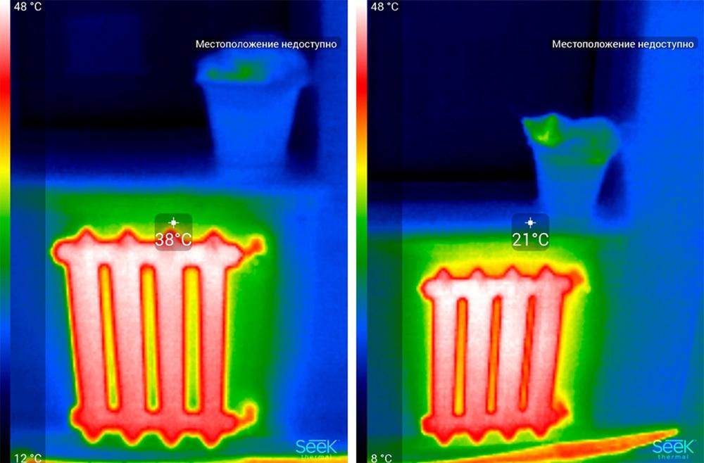 Обзор тепловизора Seek Thermal и его применение - 49
