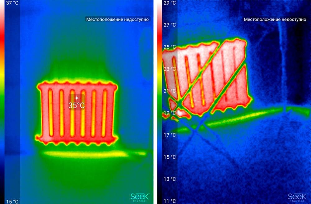 Обзор тепловизора Seek Thermal и его применение - 51