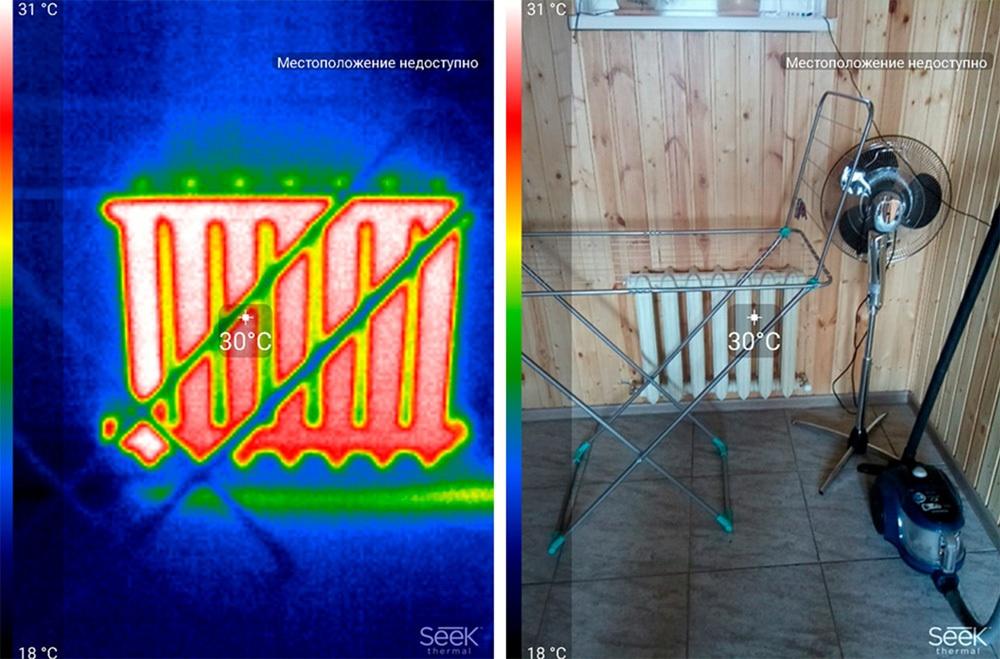 Обзор тепловизора Seek Thermal и его применение - 52
