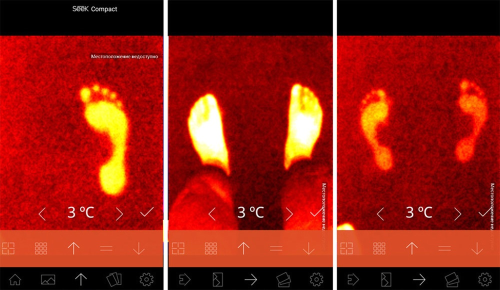 Обзор тепловизора Seek Thermal и его применение - 62