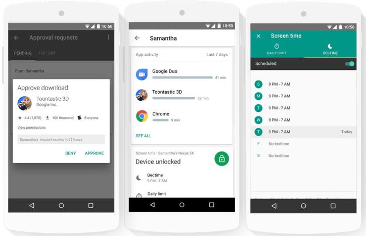 Google представила приложение Family Link