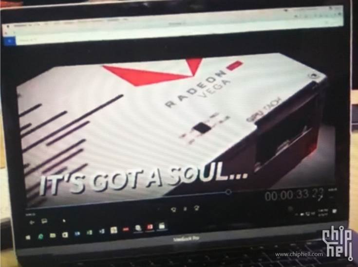 Для внешнего оформления 3D-карты AMD Radeon RX Vega выбрано сочетание белого и красного цветов