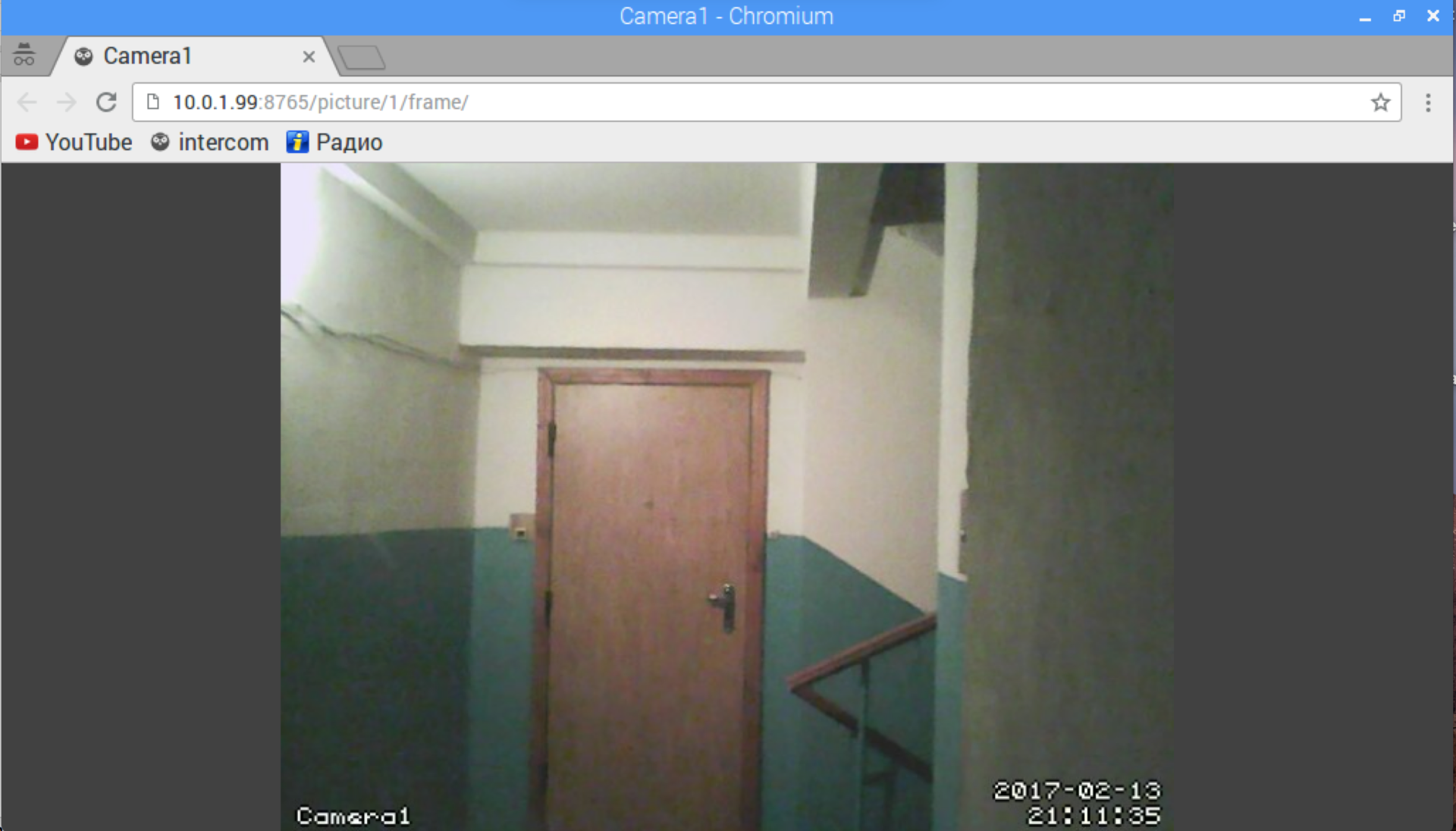 Система ограниченного доступа и видеонаблюдения на Raspberry PI - 4