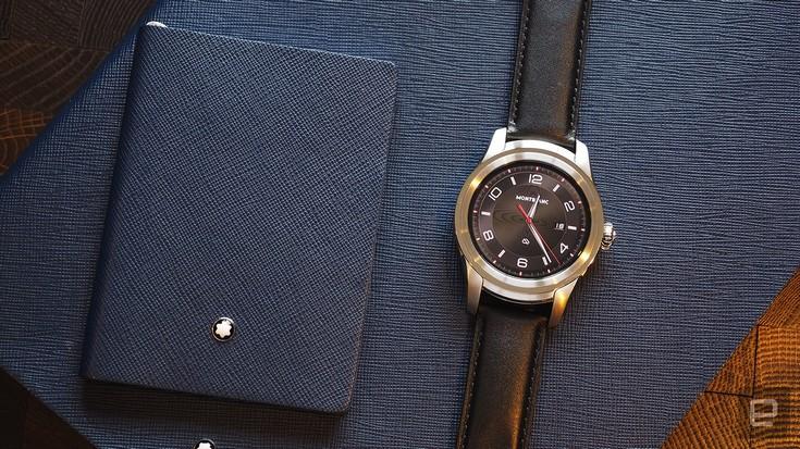 Умные часы Montblanc Summit основаны на Android Wear 2.0
