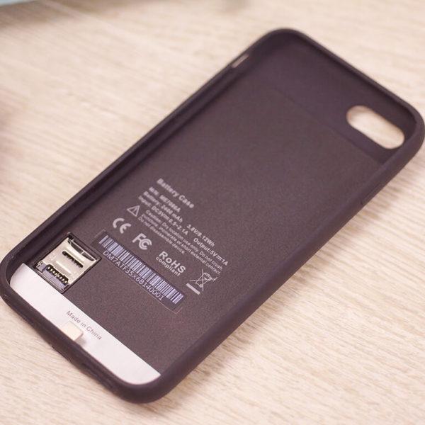 Чехол Kuner Kuke для iPhone 7 включает аккумулятор емкостью 2400 мА•ч и слот для карт microSD