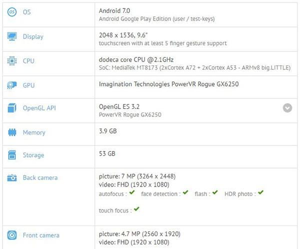 Asus, вероятно, готовит новую версию планшета ZenPad 3S 10
