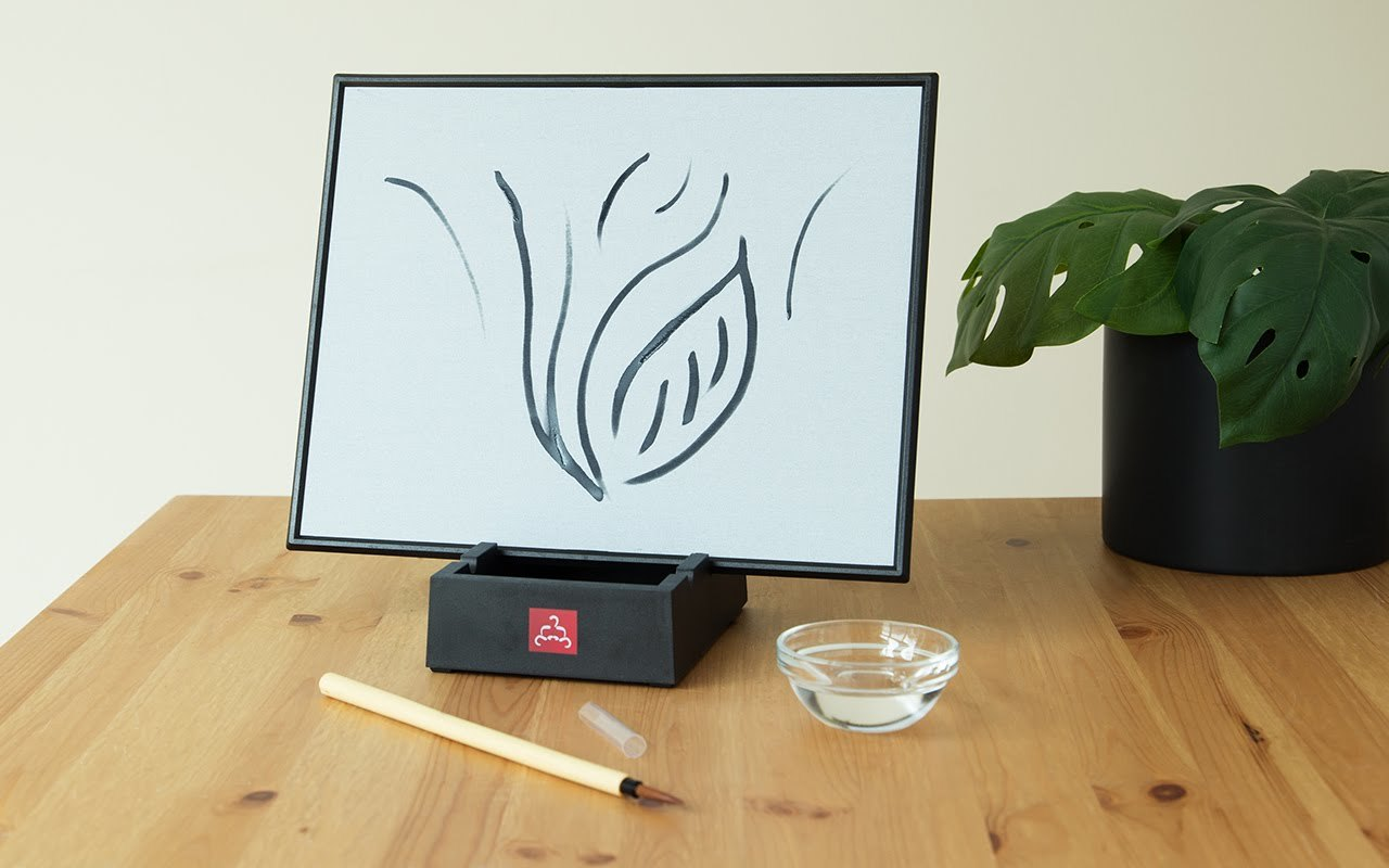 Зачем нужен планшет для рисования водой Buddha Board - 4