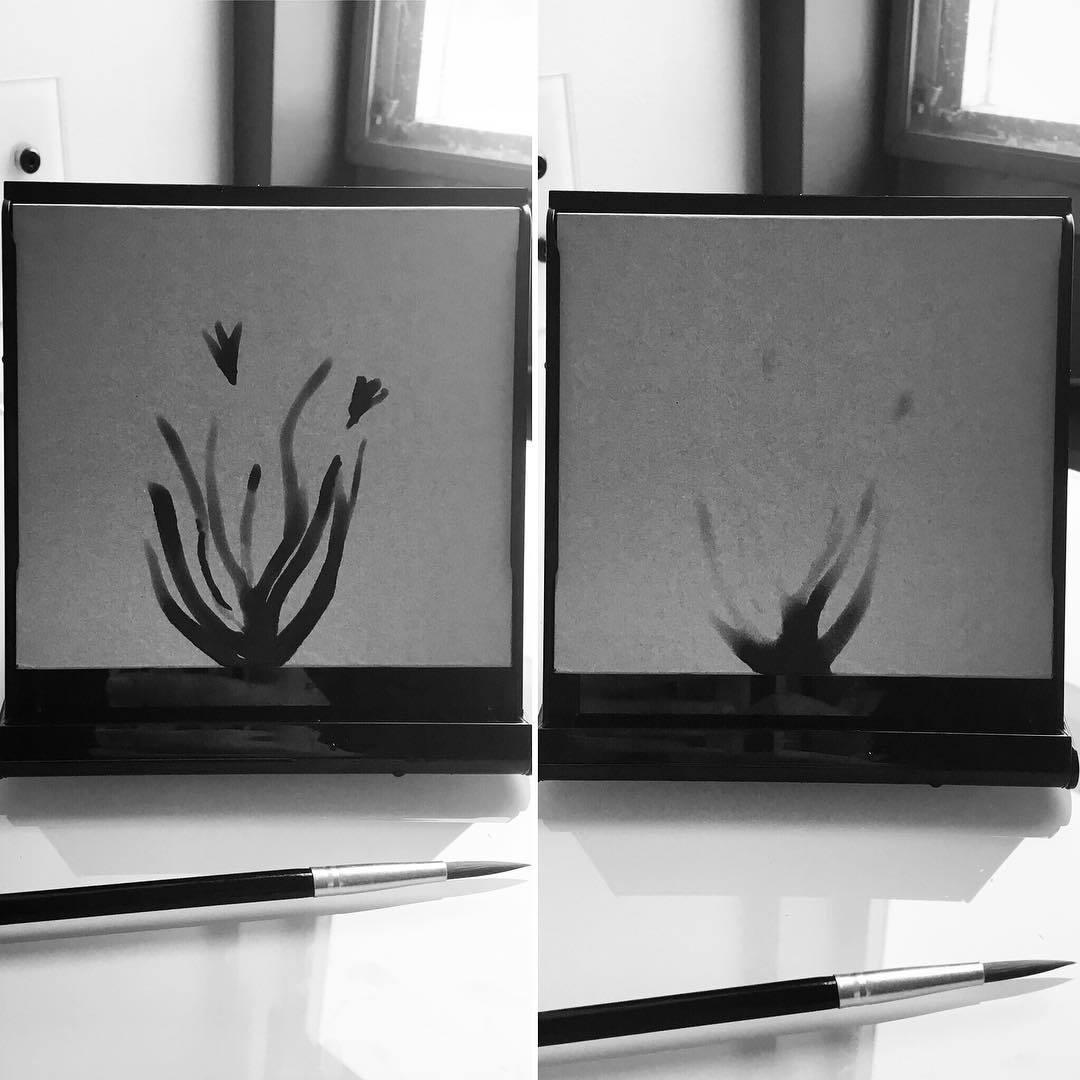 Зачем нужен планшет для рисования водой Buddha Board - 1
