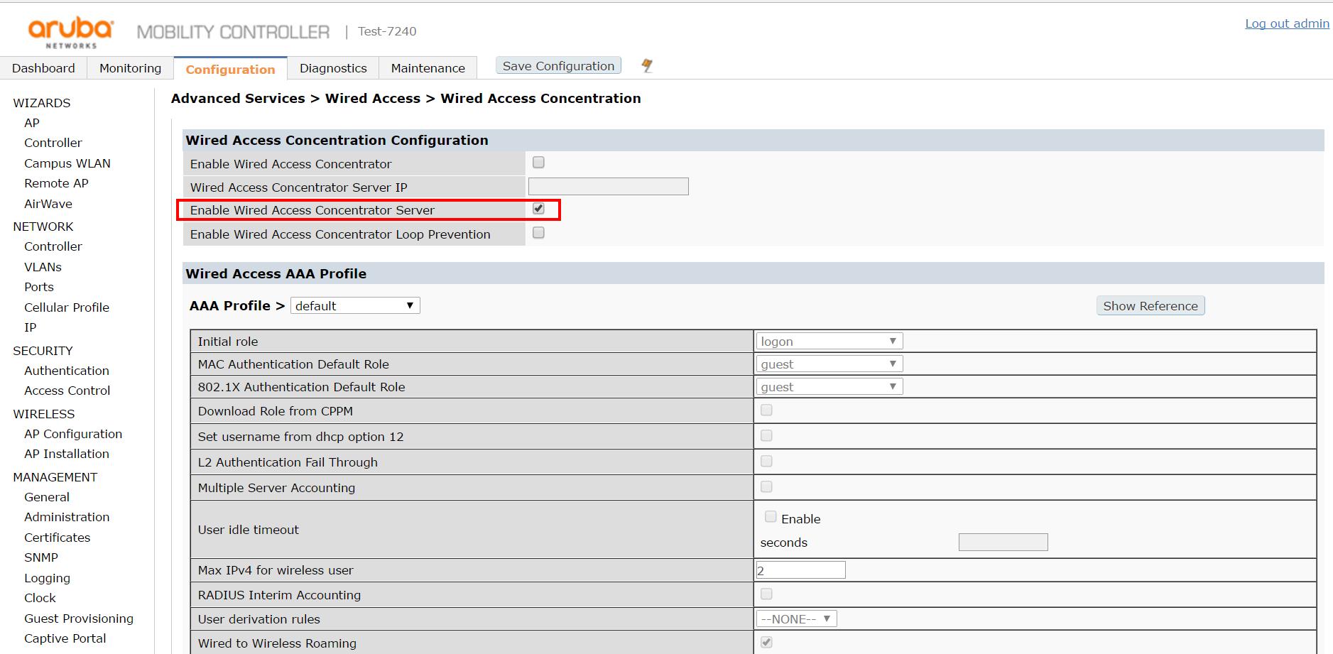 Обзор семейства коммутаторов HPE Aruba, новые возможности ArubaOS 16.X - 7