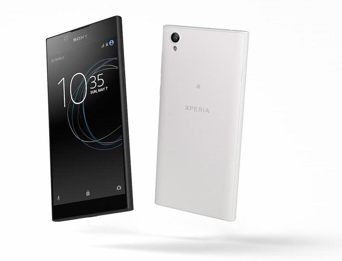 Смартфон Sony Xperia L1 оснащен дисплеем размером 5,5 дюйма