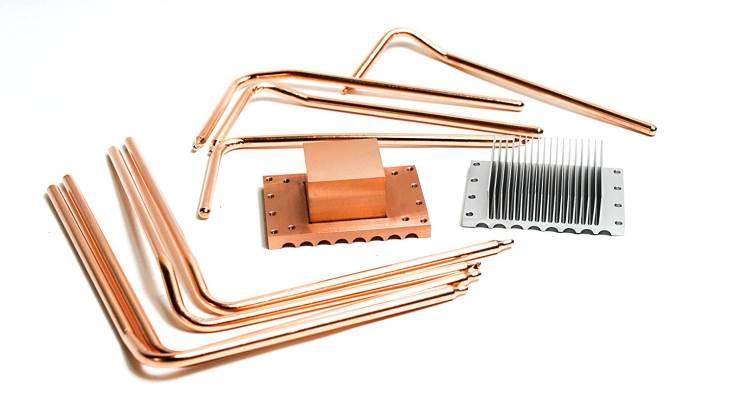 Пассивная процессорная система охлаждения Hdplex с восемью тепловыми трубками