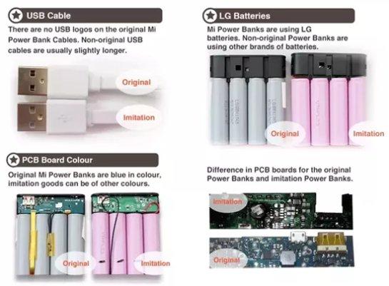 80% аккумуляторов Xiaomi являются поддельными