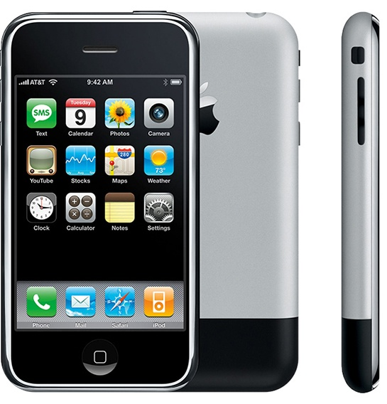 Смартфон iPhone 8 будет похож на первенца Apple