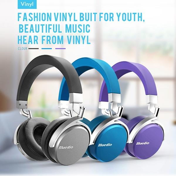 Bluedio Vinyl Premium: крутые хайтек-наушники в изящной ретро-шкуре и с «плавающими» чашками - 17