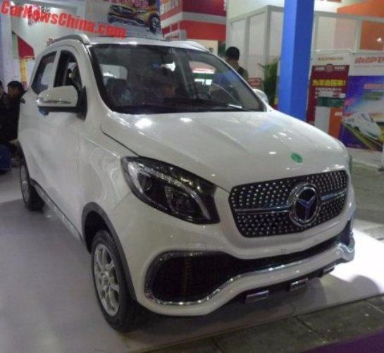 Китайцы собрали копию Mercedes за $3300