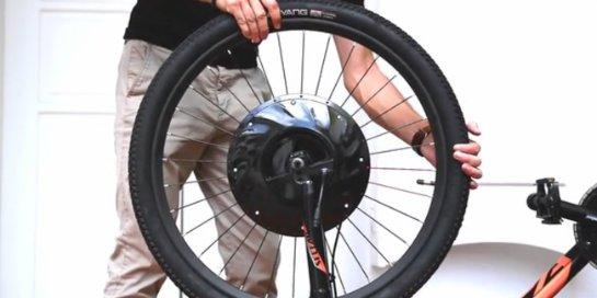 Колёса UrbanX превращают любой велосипед в электрический