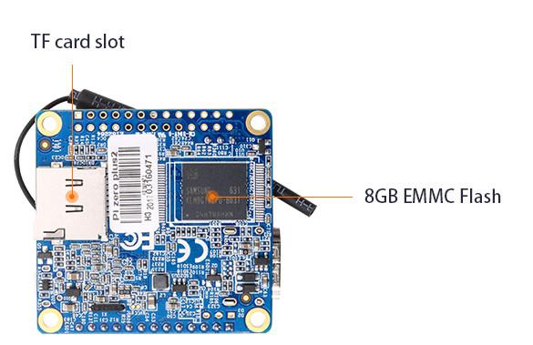 На плате Orange Pi Zero Plus 2 нашлось место для выводов, совместимых с Raspberry Pi B+