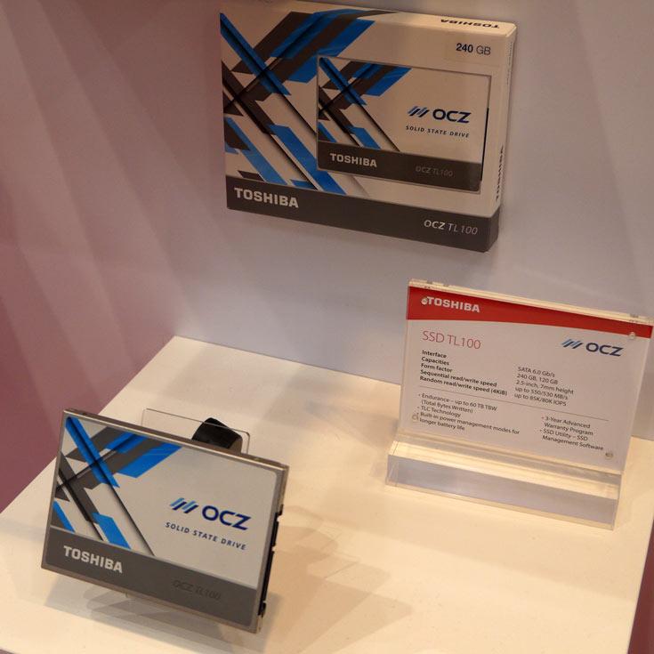 Основу экспозиции Toshiba на выставке CeBIT 2017 составили HDD, SSD и флэш-накопители - 1