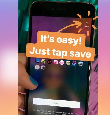 В Instagram появилась возможность сохранять ролики после завершения трансляций