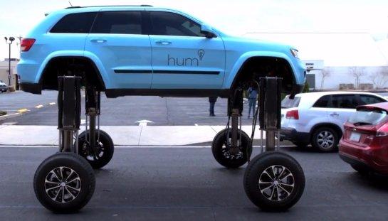 В США протестировали автомобиль-траснформер
