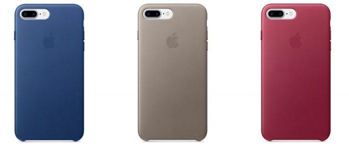 Apple выпустила силиконовые и кожаные чехлы для iPhone 7