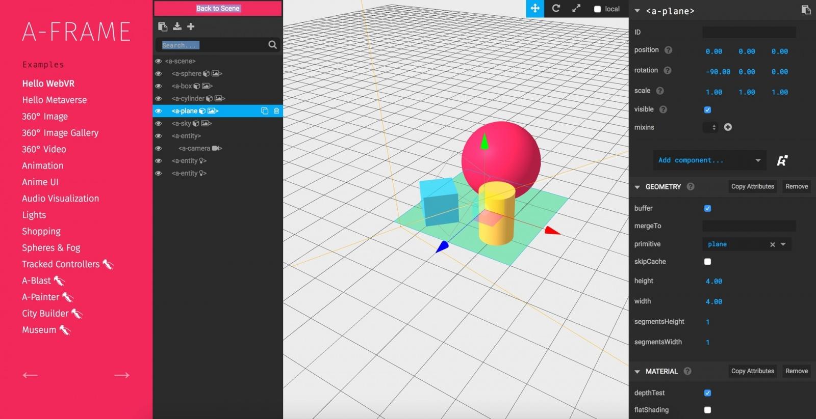 VR-AR в браузере. Как быстро влиться и сделать свое первое приложение, используя WebVR API - 14