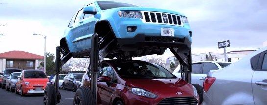 Американцы построили автомобиль, который не боится пробок