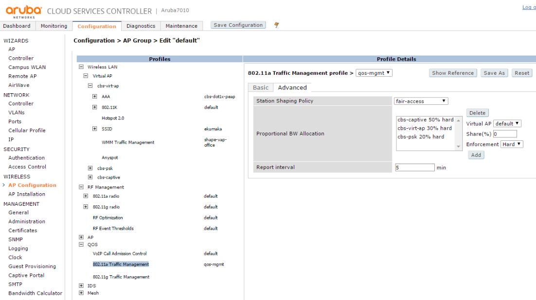 Интерфейсы контроллеров HPE Aruba и Cisco - 3