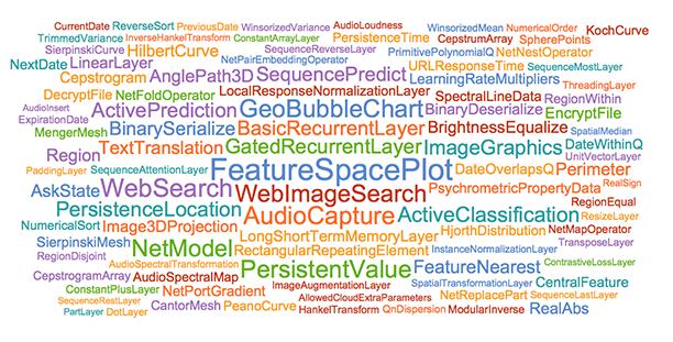 Разработка R&D-проектов продолжается: запуск Wolfram Language 11.1 - 5