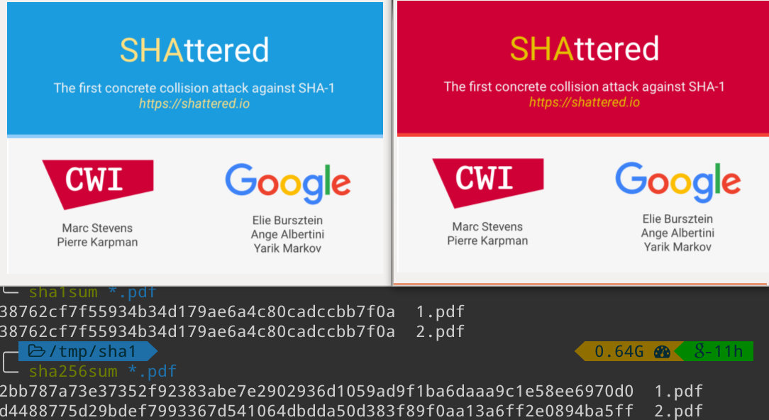 GitHub внедрил систему обнаружения коллизий SHA-1 - 1