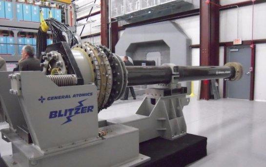 В США опубликовали видео испытаний электромагнитной пушки