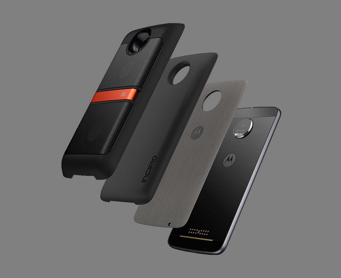 Модули Moto Mods будут поддерживать три поколения смартфонов Moto Z