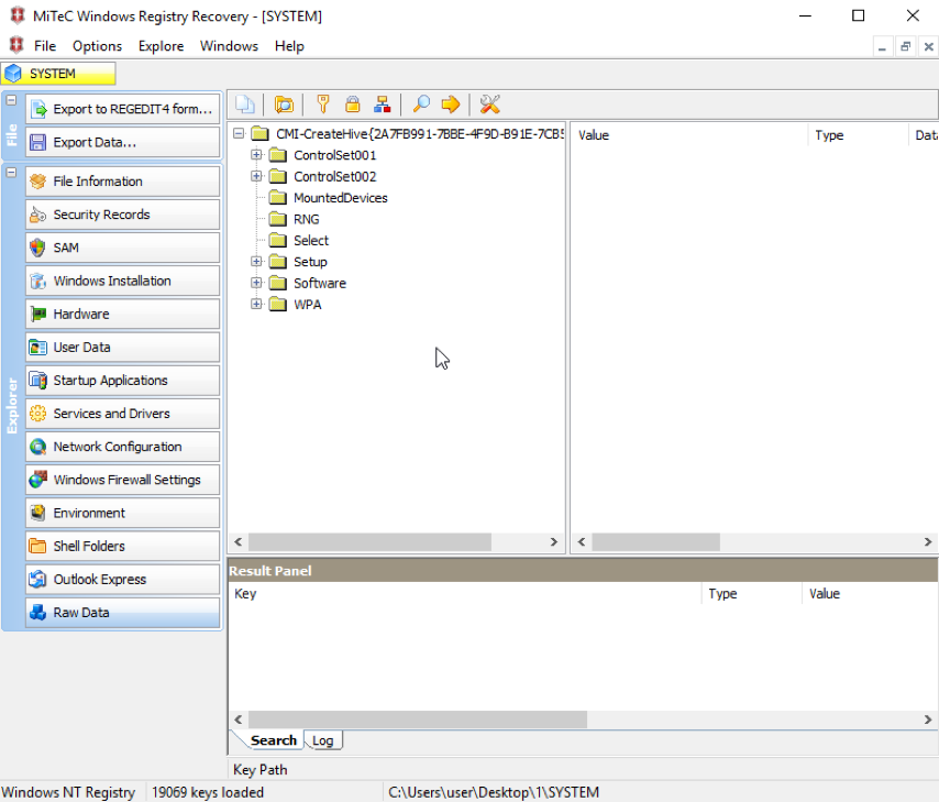 Недокументированные возможности Windows: скрываем изменения в реестре от программ, работающих с неактивным реестром - 2