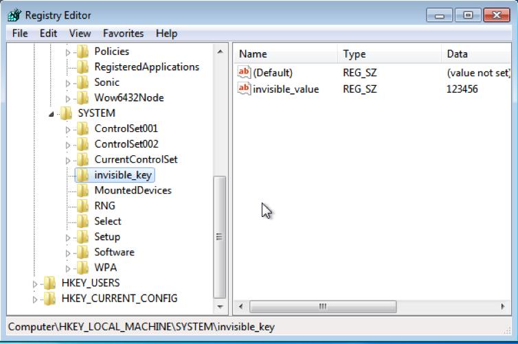 Недокументированные возможности Windows: скрываем изменения в реестре от программ, работающих с неактивным реестром - 1