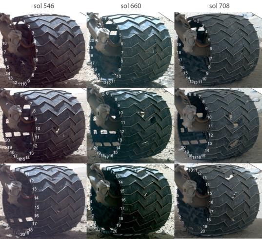 Разрушение колёс Curiosity пока не угрожает миссии марсохода - 3