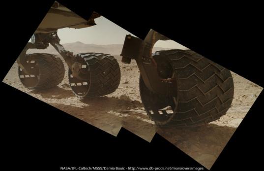 Разрушение колёс Curiosity пока не угрожает миссии марсохода - 4
