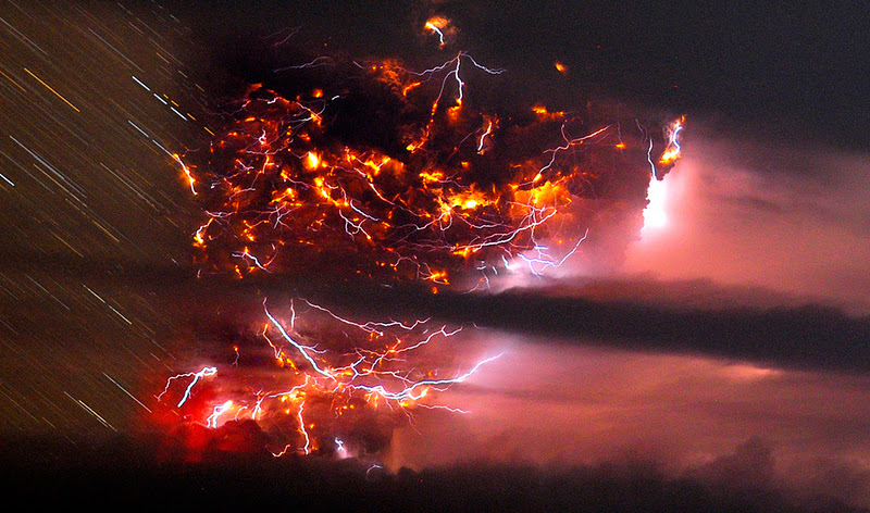 Удивительные вулканические молнии - 17