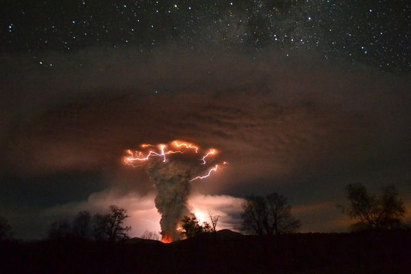 Удивительные вулканические молнии - 21