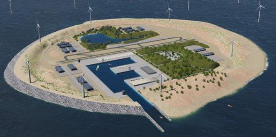 В Дании планируют перенос ветрогенераторов на искусственные острова