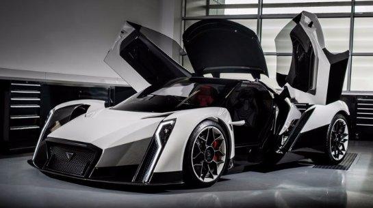 «Экзотическая тройка»: неожиданные суперкары Женевского автосалона