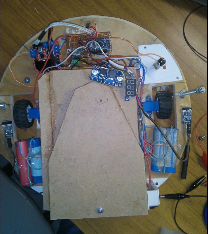 Робот-пылесос своими руками — часть 2 - 9