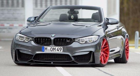 BMW показала фотографии нового кабриолета M4