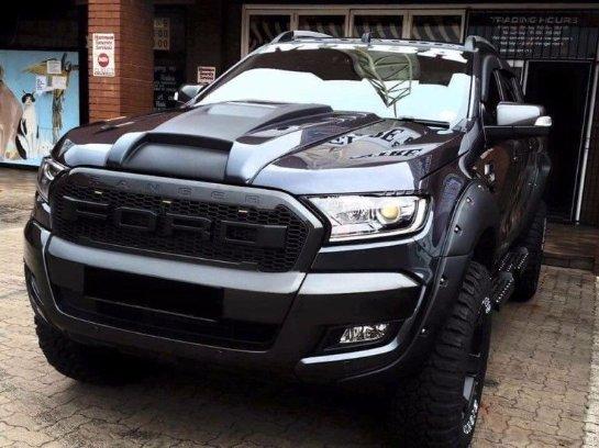 Ford выпустил новую версию пикапа Ranger