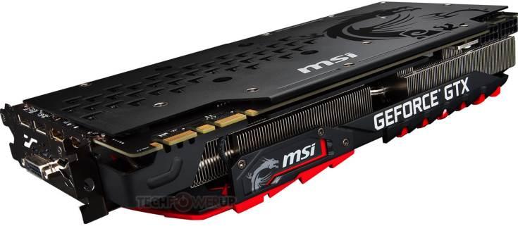 3D-карта MSI GeForce GTX 1080 Ti Gaming X