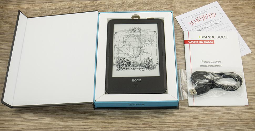 ONYX BOOX Vasco Da Gama: умнее, чем книга, проще, чем планшет - 5