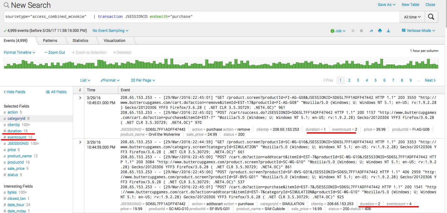 Splunk. Введение в анализ машинных данных — часть 2. Обогащение данных из внешних справочников и работа с гео-данными - 11