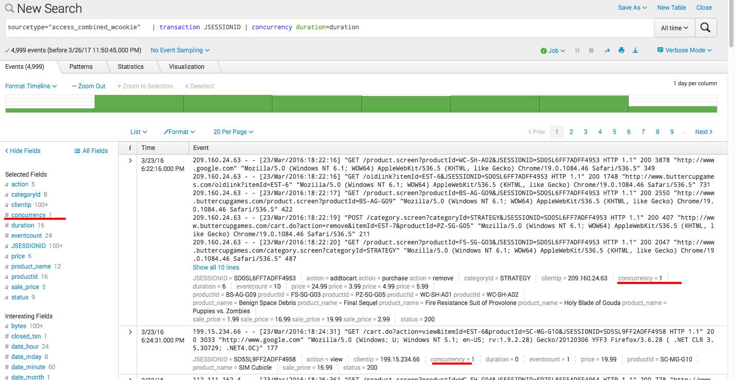 Splunk. Введение в анализ машинных данных — часть 2. Обогащение данных из внешних справочников и работа с гео-данными - 13